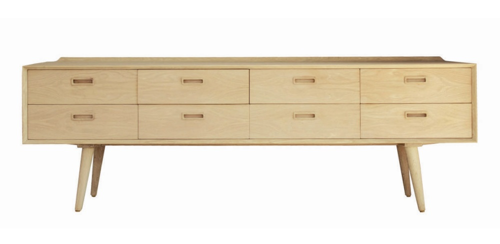 nordic sideboard 8 drawer